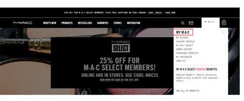 MAC魅可美国官网